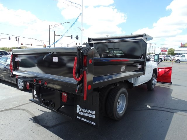 2016 Silverado 3500 Regular Cab 4x4, Crysteel Dump Body #GZ377114 - photo 6
