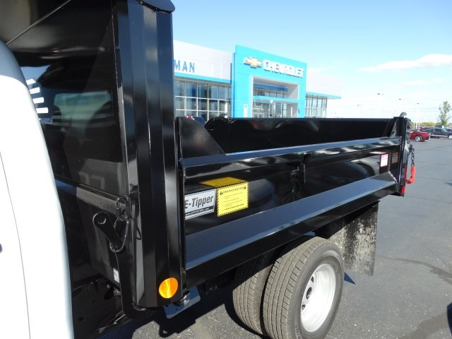2016 Silverado 3500 Regular Cab 4x4, Crysteel Dump Body #GZ383645 - photo 11