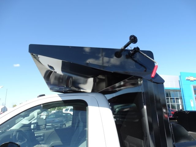 2016 Silverado 3500 Regular Cab 4x4, Crysteel Dump Body #GZ383645 - photo 12