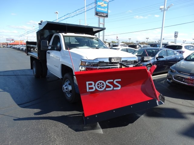 2016 Silverado 3500 Regular Cab 4x4, Crysteel Dump Body #GZ383645 - photo 4