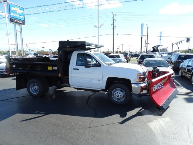 2016 Silverado 3500 Regular Cab 4x4, Crysteel Dump Body #GZ383645 - photo 5