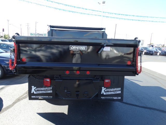 2016 Silverado 3500 Regular Cab 4x4, Crysteel Dump Body #GZ383645 - photo 7