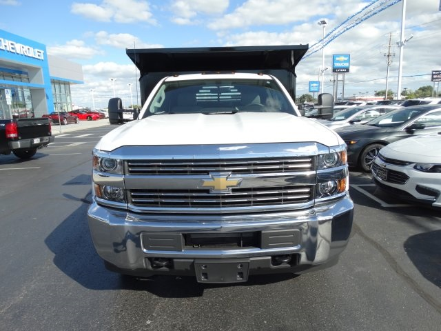 2016 Silverado 3500 Regular Cab 4x4, Crysteel Dump Body #GZ384328 - photo 3