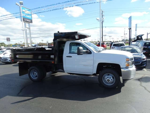 2016 Silverado 3500 Regular Cab 4x4, Crysteel Dump Body #GZ384328 - photo 5