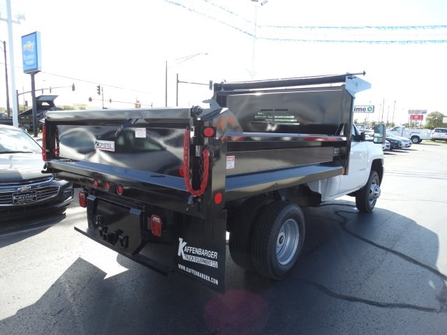 2016 Silverado 3500 Regular Cab 4x4, Crysteel Dump Body #GZ384328 - photo 6