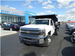 2016 Silverado 3500 Regular Cab 4x4, Crysteel Dump Body #GZ384328 - photo 1