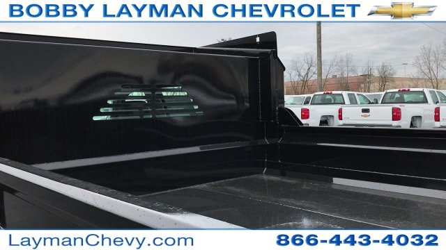 2017 Silverado 3500 Crew Cab DRW 4x4, Crysteel Dump Body #HF124736 - photo 12