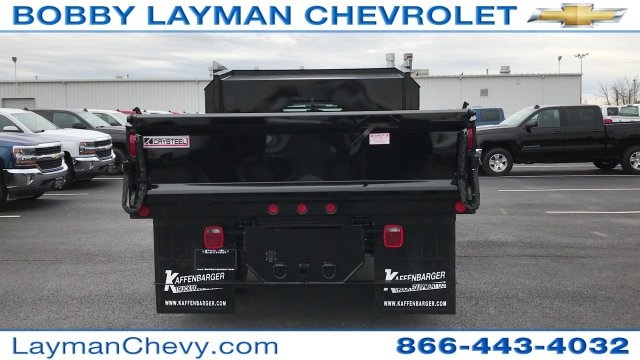 2017 Silverado 3500 Crew Cab DRW 4x4, Crysteel Dump Body #HF124736 - photo 8