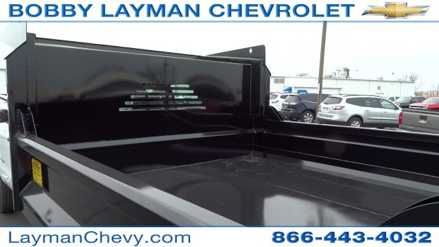 2017 Silverado 3500 Crew Cab DRW 4x4, Crysteel Dump Body #HF133064 - photo 10