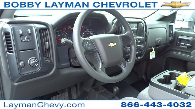 2017 Silverado 3500 Crew Cab DRW 4x4, Crysteel Dump Body #HF133064 - photo 14