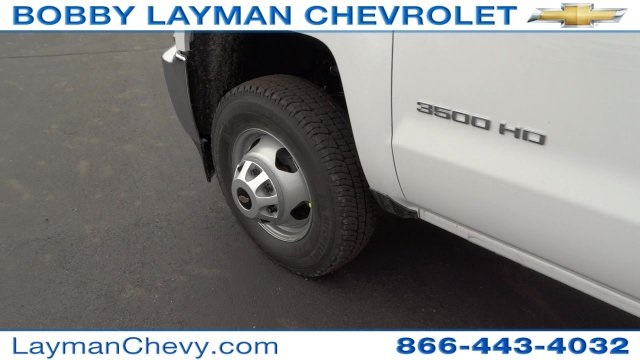2017 Silverado 3500 Crew Cab DRW 4x4, Crysteel Dump Body #HF133064 - photo 34