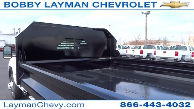 2017 Silverado 3500 Regular Cab DRW, Crysteel Dump Body #HF145888 - photo 13