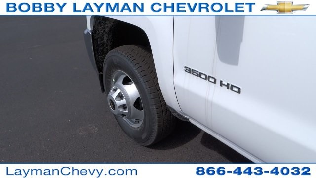 2017 Silverado 3500 Regular Cab DRW, Crysteel Dump Body #HF145888 - photo 15