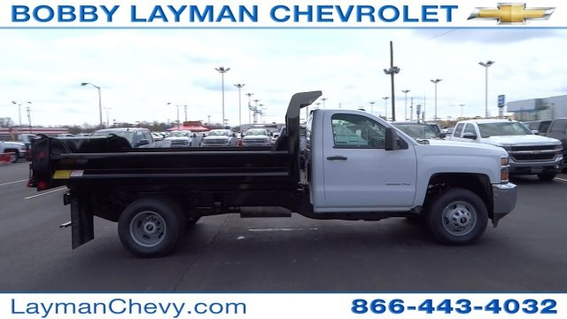 2017 Silverado 3500 Regular Cab DRW, Crysteel Dump Body #HF145888 - photo 1
