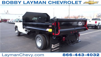 2017 Silverado 3500 Regular Cab DRW, Crysteel Dump Body #HF145888 - photo 2