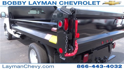 2017 Silverado 3500 Regular Cab DRW, Crysteel Dump Body #HF145888 - photo 12