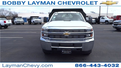 2017 Silverado 3500 Regular Cab DRW, Crysteel Dump Body #HF145888 - photo 4