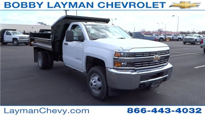 2017 Silverado 3500 Regular Cab DRW, Crysteel Dump Body #HF145888 - photo 6