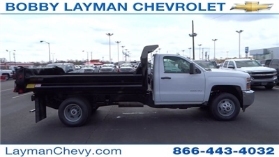 2017 Silverado 3500 Regular Cab DRW, Crysteel Dump Body #HF145888 - photo 8