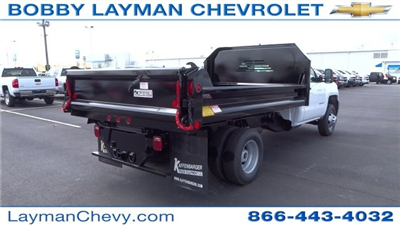 2017 Silverado 3500 Regular Cab DRW, Crysteel Dump Body #HF145888 - photo 9
