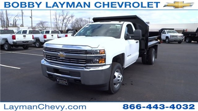 2017 Silverado 3500 Regular Cab DRW, Crysteel Dump Body #HF145888 - photo 3