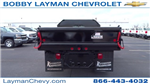 2017 Silverado 3500 Regular Cab DRW, Crysteel Dump Body #HF145888 - photo 10