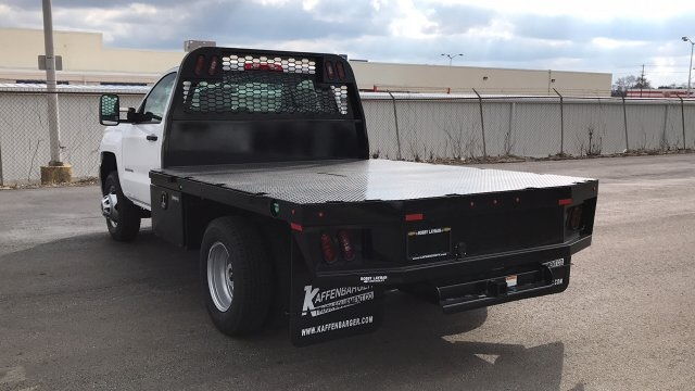 2017 Silverado 3500 Regular Cab DRW 4x2,  Knapheide Platform Body #HF200828 - photo 2