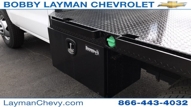 2017 Silverado 3500 Regular Cab DRW 4x2,  Knapheide Platform Body #HF200828 - photo 11
