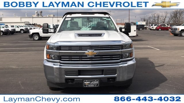 2017 Silverado 3500 Regular Cab DRW 4x2,  Knapheide Platform Body #HF200828 - photo 4