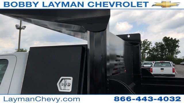 2017 Silverado 3500 Regular Cab DRW, Crysteel Dump Body #HF206832 - photo 17
