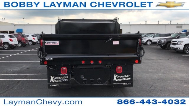 2017 Silverado 3500 Regular Cab DRW, Crysteel Dump Body #HF206832 - photo 12