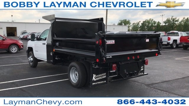 2017 Silverado 3500 Regular Cab DRW, Crysteel Dump Body #HF206832 - photo 2