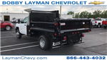 2017 Silverado 3500 Regular Cab DRW, Crysteel Dump Body #HF206832 - photo 1