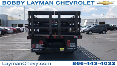 2017 Silverado 3500 Regular Cab DRW, Reading Steel Stake Bodies Stake Bed #HF214817 - photo 7