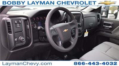 2017 Silverado 3500 Regular Cab DRW 4x4, Reading Classic II Steel Service Body #HF215423 - photo 14