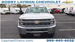 2017 Silverado 3500 Regular Cab DRW 4x4, Reading Classic II Steel Service Body #HF215423 - photo 5
