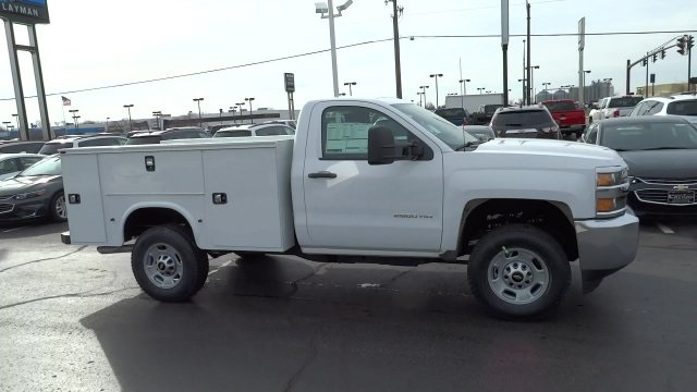 2017 Silverado 2500 Regular Cab 4x4, Knapheide Standard Service Body #HZ218776 - photo 1
