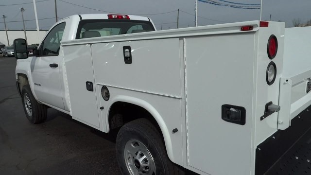 2017 Silverado 2500 Regular Cab 4x4, Knapheide Standard Service Body #HZ218776 - photo 10