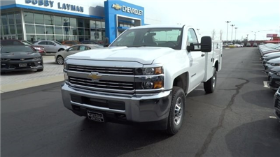 2017 Silverado 2500 Regular Cab 4x4, Knapheide Standard Service Body #HZ218776 - photo 3