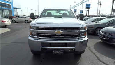 2017 Silverado 2500 Regular Cab 4x4, Knapheide Standard Service Body #HZ218776 - photo 4