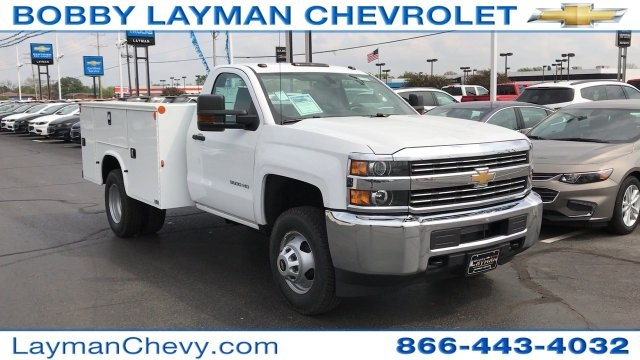 2017 Silverado 3500 Regular Cab DRW 4x4, Knapheide Standard Service Body Service Body #HZ232298 - photo 36