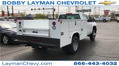 2017 Silverado 3500 Regular Cab DRW 4x4, Knapheide Standard Service Body Service Body #HZ232298 - photo 6