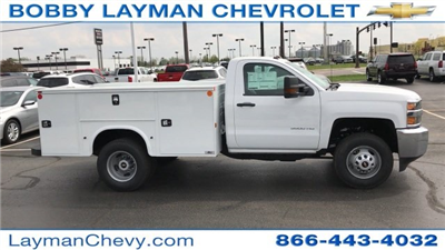 2017 Silverado 3500 Regular Cab DRW 4x4, Knapheide Standard Service Body Service Body #HZ232298 - photo 1