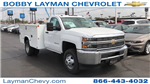 2017 Silverado 3500 Regular Cab DRW 4x4, Knapheide Standard Service Body Service Body #HZ232298 - photo 5