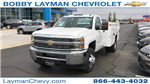 2017 Silverado 3500 Regular Cab DRW 4x4, Knapheide Standard Service Body Service Body #HZ232298 - photo 3