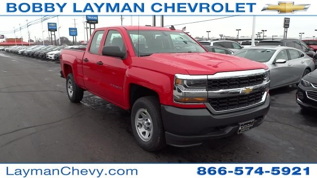 2017 Silverado 1500 Double Cab 4x4 Pickup #HZ234851 - photo 5