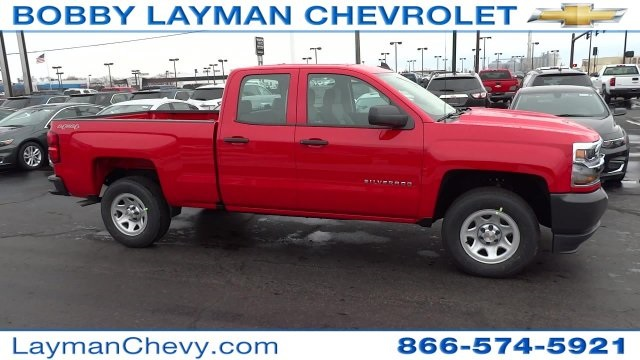 2017 Silverado 1500 Double Cab 4x4 Pickup #HZ234851 - photo 1
