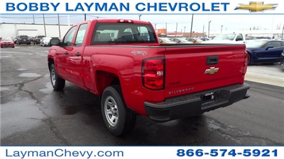 2017 Silverado 1500 Double Cab 4x4 Pickup #HZ234851 - photo 2