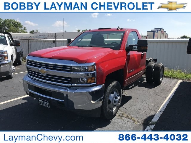 2017 Silverado 3500 Regular Cab DRW 4x2,  Cab Chassis #HZ256656 - photo 2