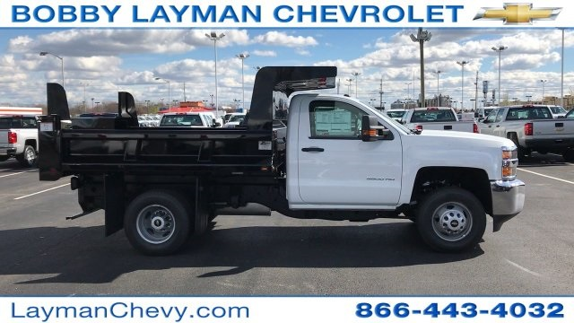 2017 Silverado 3500 Regular Cab DRW, Rugby Dump Body #HZ260514 - photo 5